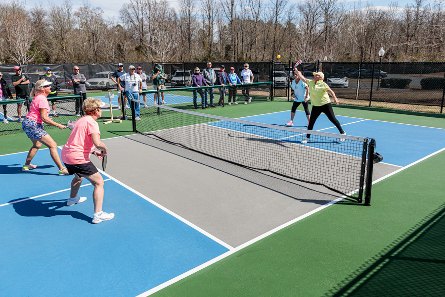 SCCL, Tree Tops and Orchards Pickleball Tournament Feb 2019