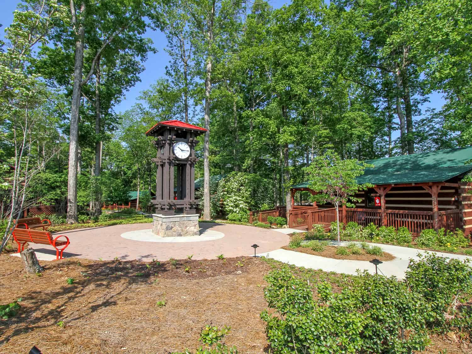 Tree Tops Gated Community - Amenity Cabins - Team Pogue Real Estate