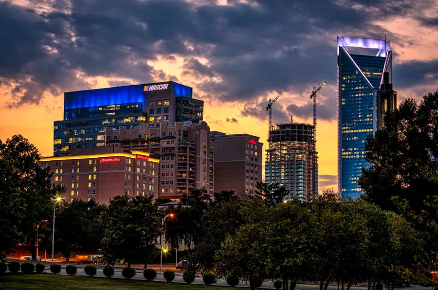 Uptown Charlotte Sunset - Homes For Sale - Team Pogue Real Estate